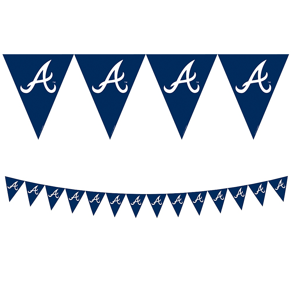 Nav Item for Atlanta Braves Pennant Banner Image #1