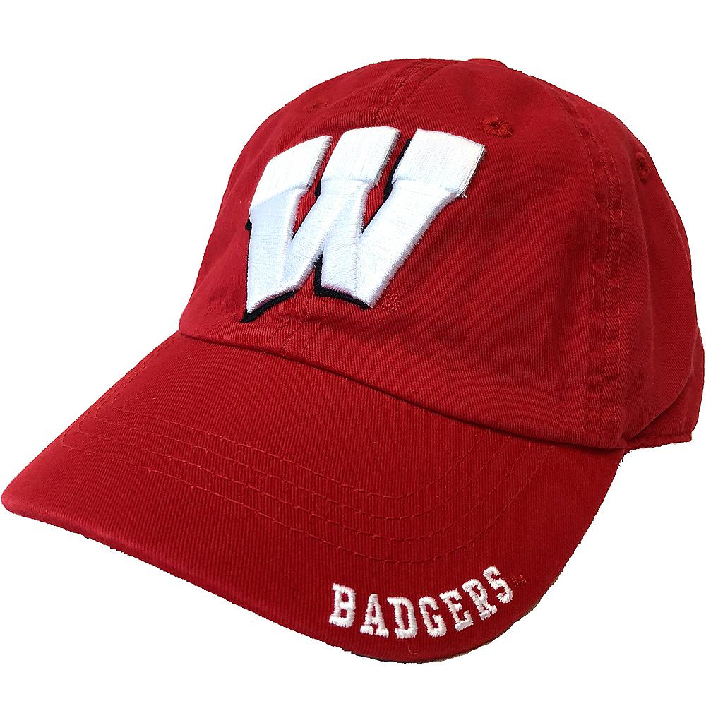Wisconsin Badgers Baseball Hat Image #1
