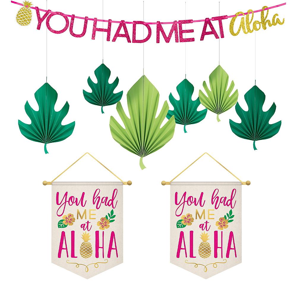 Aloha Hawaiian Decorating Kit Image #1
