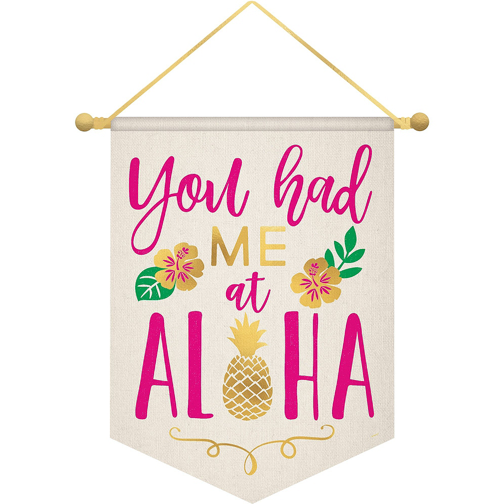 Aloha Hawaiian Decorating Kit Image #4