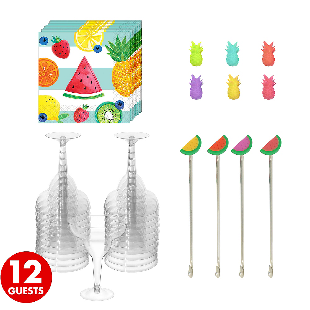 Fruit Theme Cocktail Kit for 12 Guests Image #1