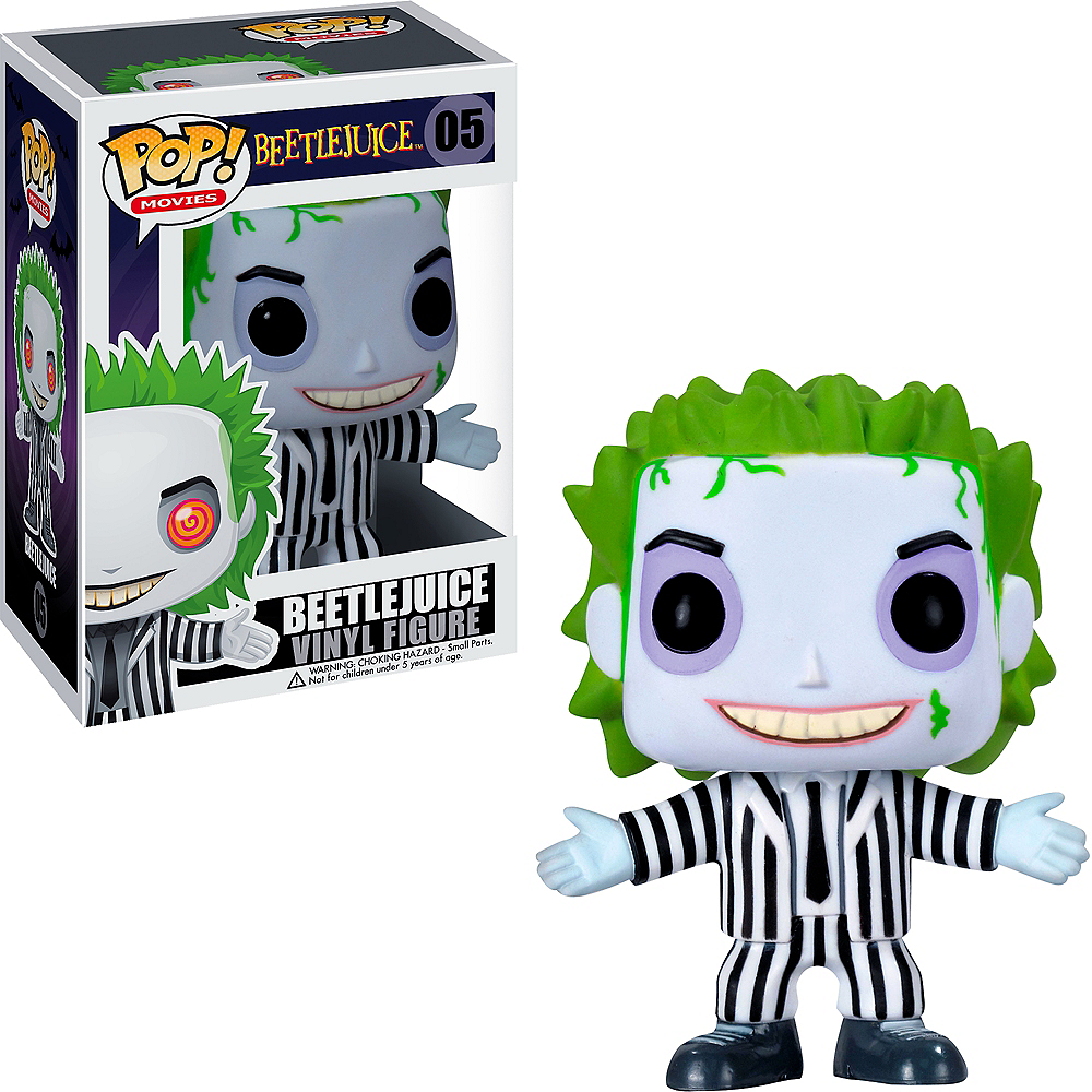 Nav Item for Funko Pop! Beetlejuice Figure - Beetlejuice Image #1