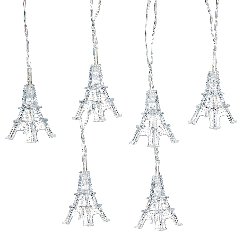 Eiffel Tower LED String Lights Image #1