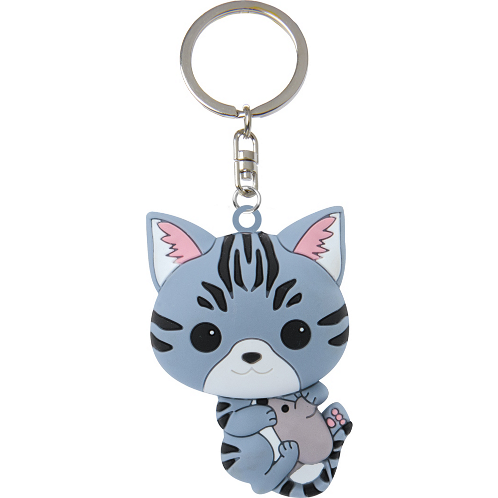 Cat & Mouse Keychain Image #1