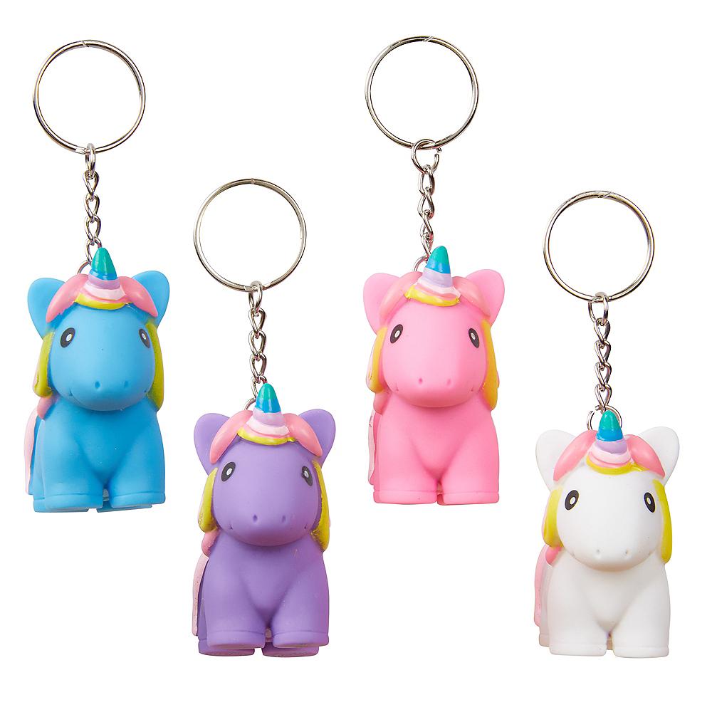 PooPoo Unicorn Keychain Image #1