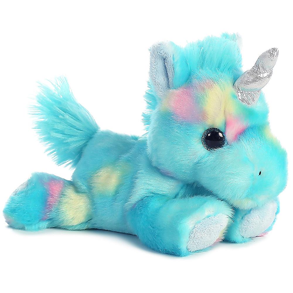 Blueberryripple Unicorn Plush Image #1