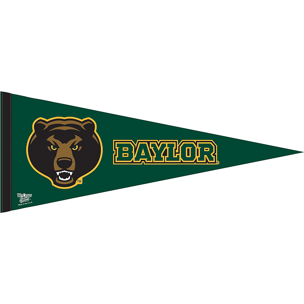 Nav Item for Baylor Bears Pennant Flag Image #1