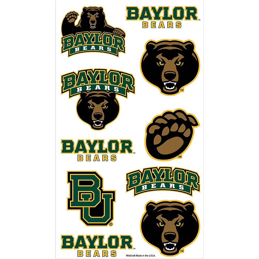 Baylor Bears Tattoos 10ct Image #1
