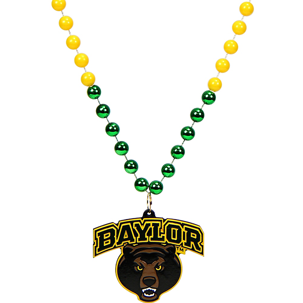 Baylor Bears Pendant Bead Necklace Image #1