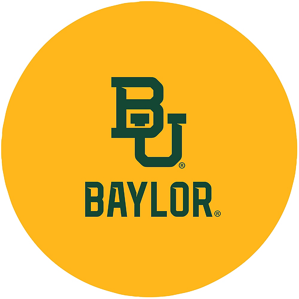 Baylor Bears Lunch Plates 10ct Image #1