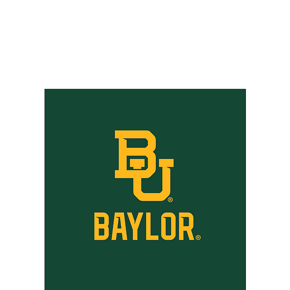 Baylor Bears Beverage Napkins 24ct Image #1