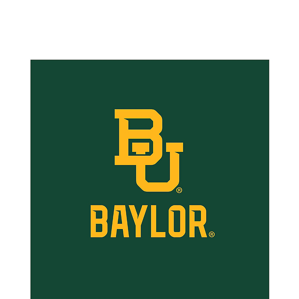 Nav Item for Baylor Bears Lunch Napkins 20ct Image #1