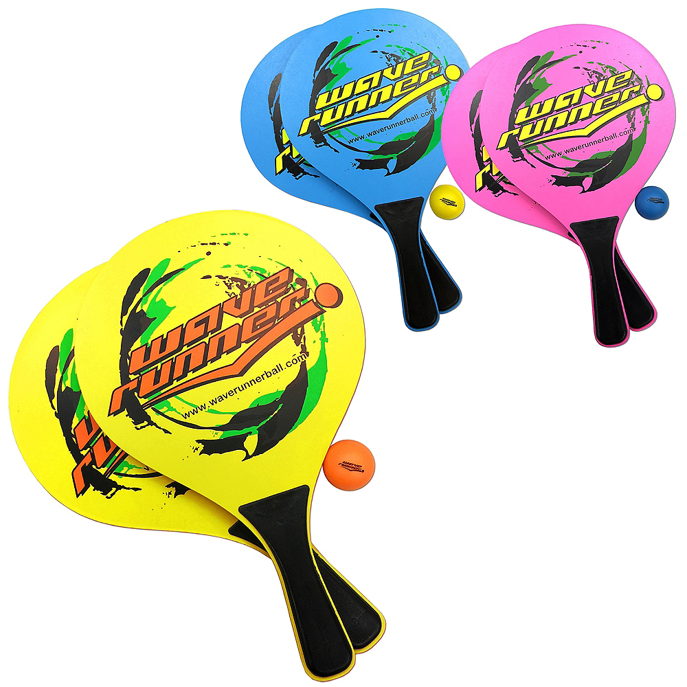 Wave Runner Paddle Ball Set 4pc Image #1