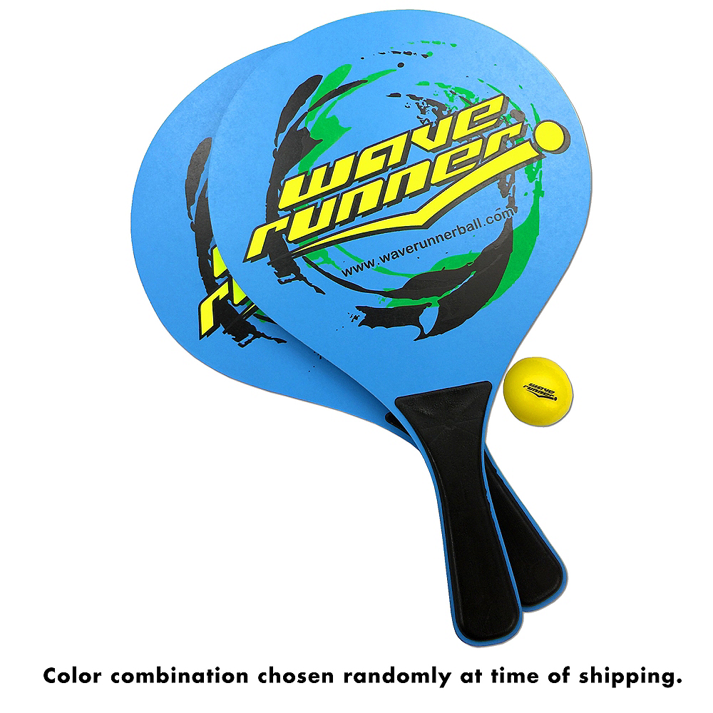 Wave Runner Paddle Ball Set 4pc Image #2