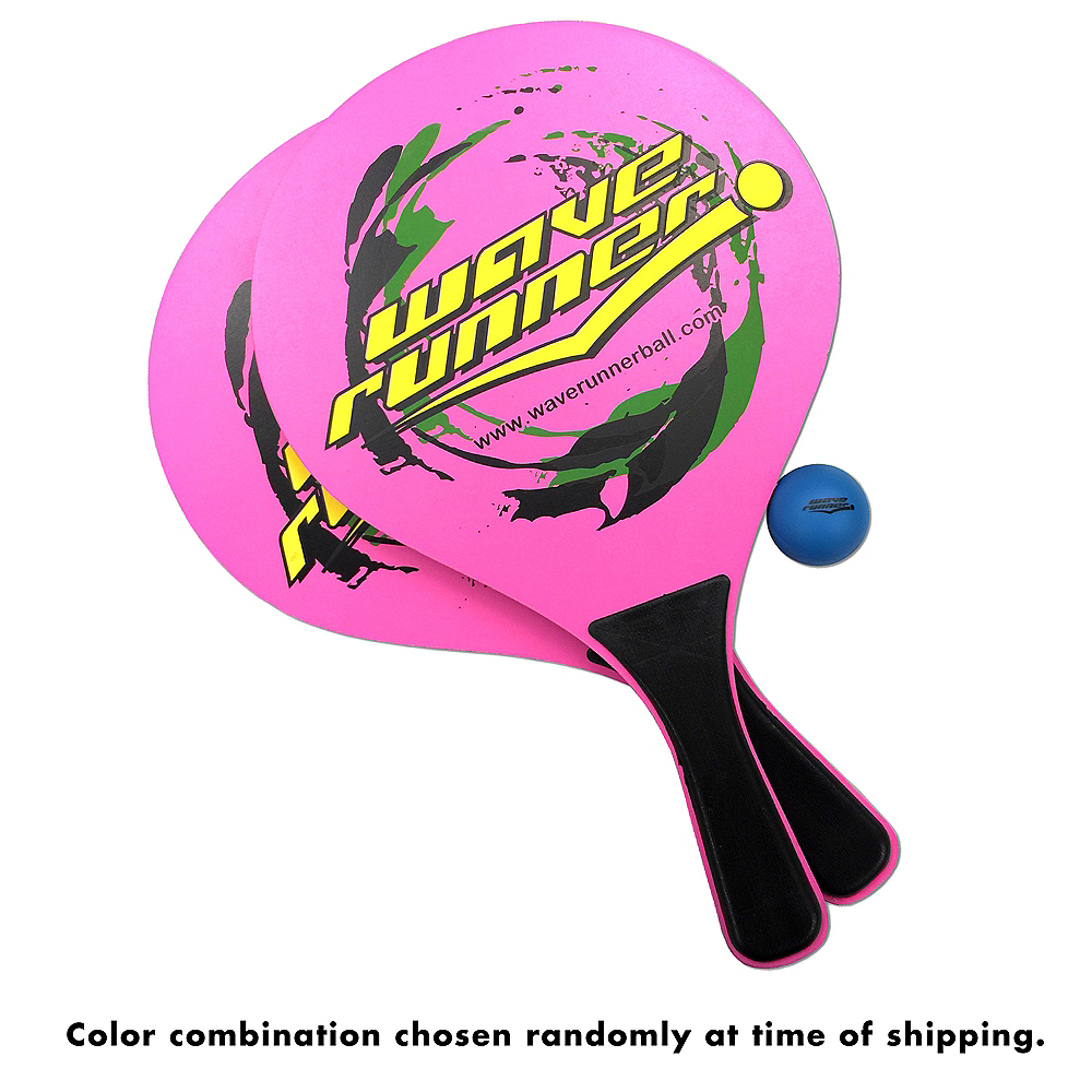 Wave Runner Paddle Ball Set 4pc Image #3