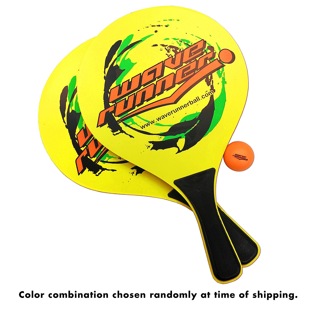 Wave Runner Paddle Ball Set 4pc Image #4