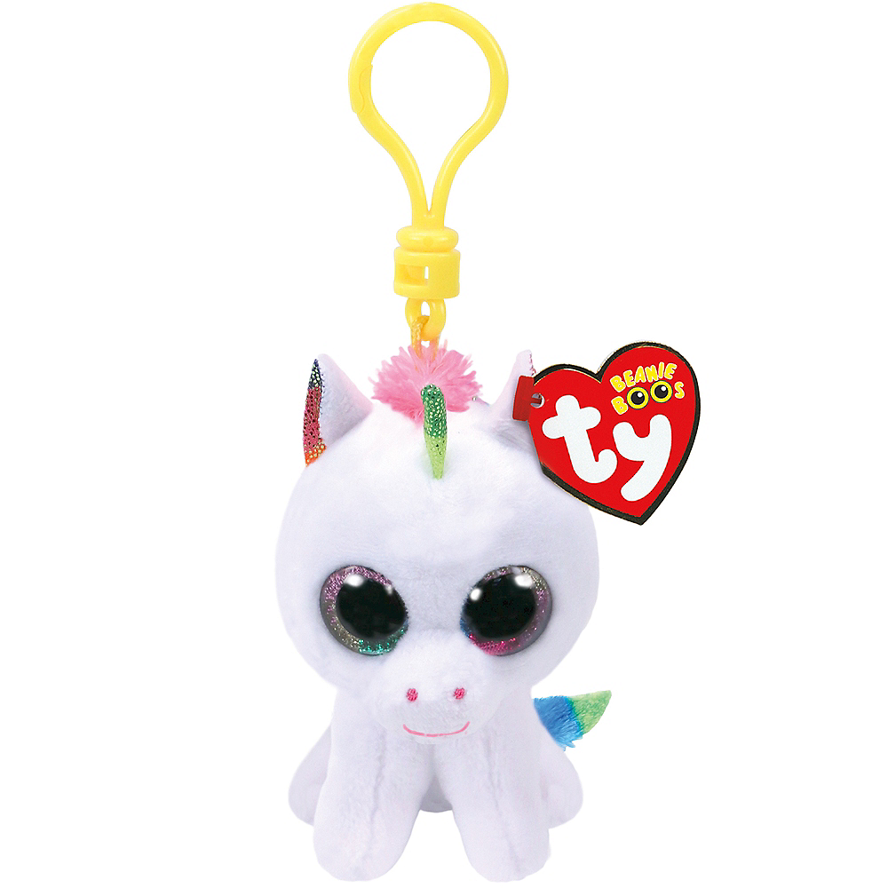 b22e838f915 Clip-On Pixy Beanie Boo Unicorn Plush 2 1 2in x 3 1 4in