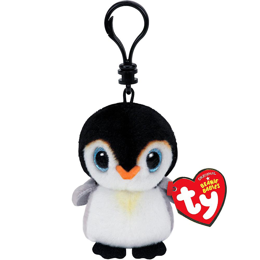 Clip-On Pongo Beanie Boo Penguin Plush 2 1 2in x 3 1 4in  6bd72d2c677