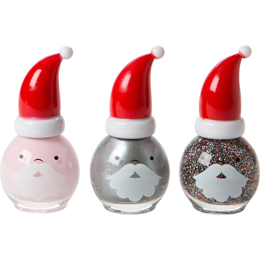 Santa Nail Polish Set Image #1