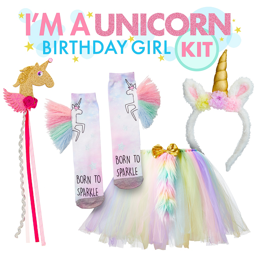 b9a9a85d6 I'm a Unicorn Birthday Girl Outfit Kit Image #1 ...