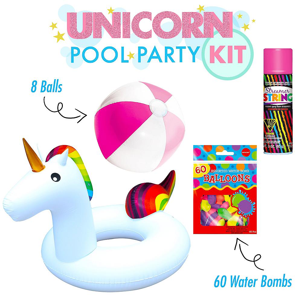 Awesome Unicorn Pool Party Kit Image #1