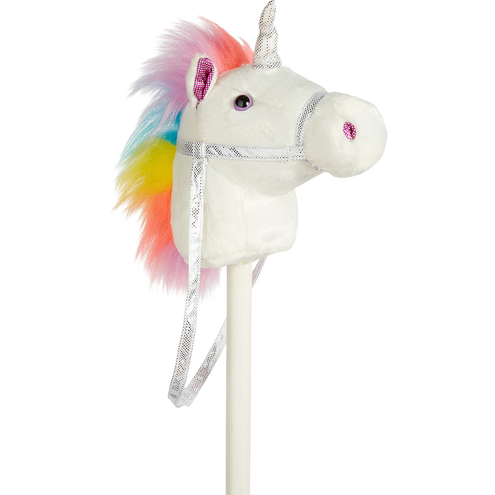 Nav Item for White Unicorn Hobby Horse Image #3