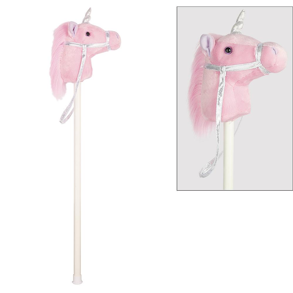 Pink Unicorn Hobby Horse Image #1