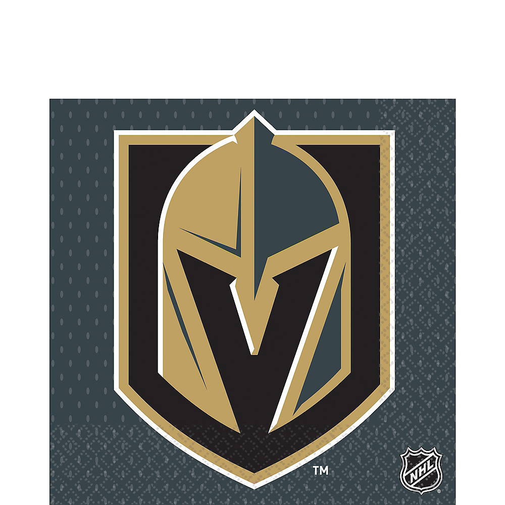 Vegas Golden Knights Lunch Napkins 16ct Image #1