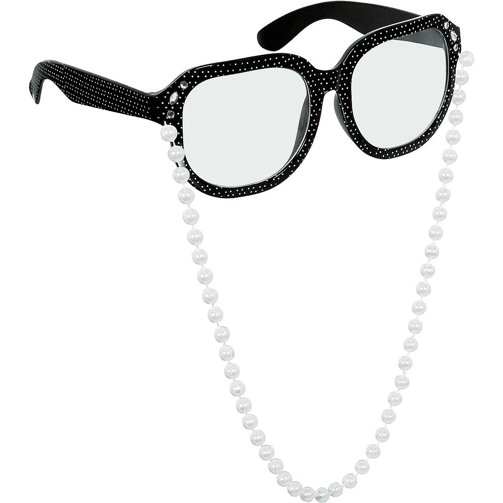 100th Day of School Grandma Glasses Image #1