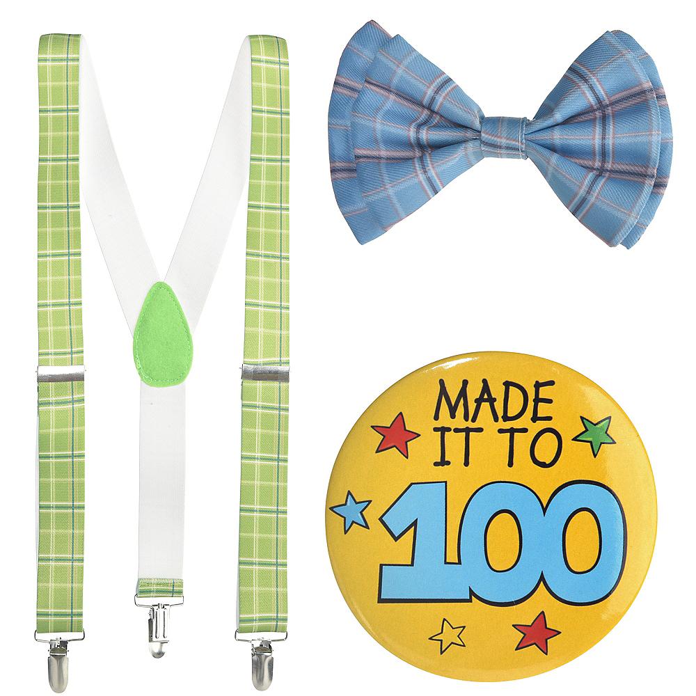 Boys 100th Day of School Grandpa Costume Accessory Kit Image #2