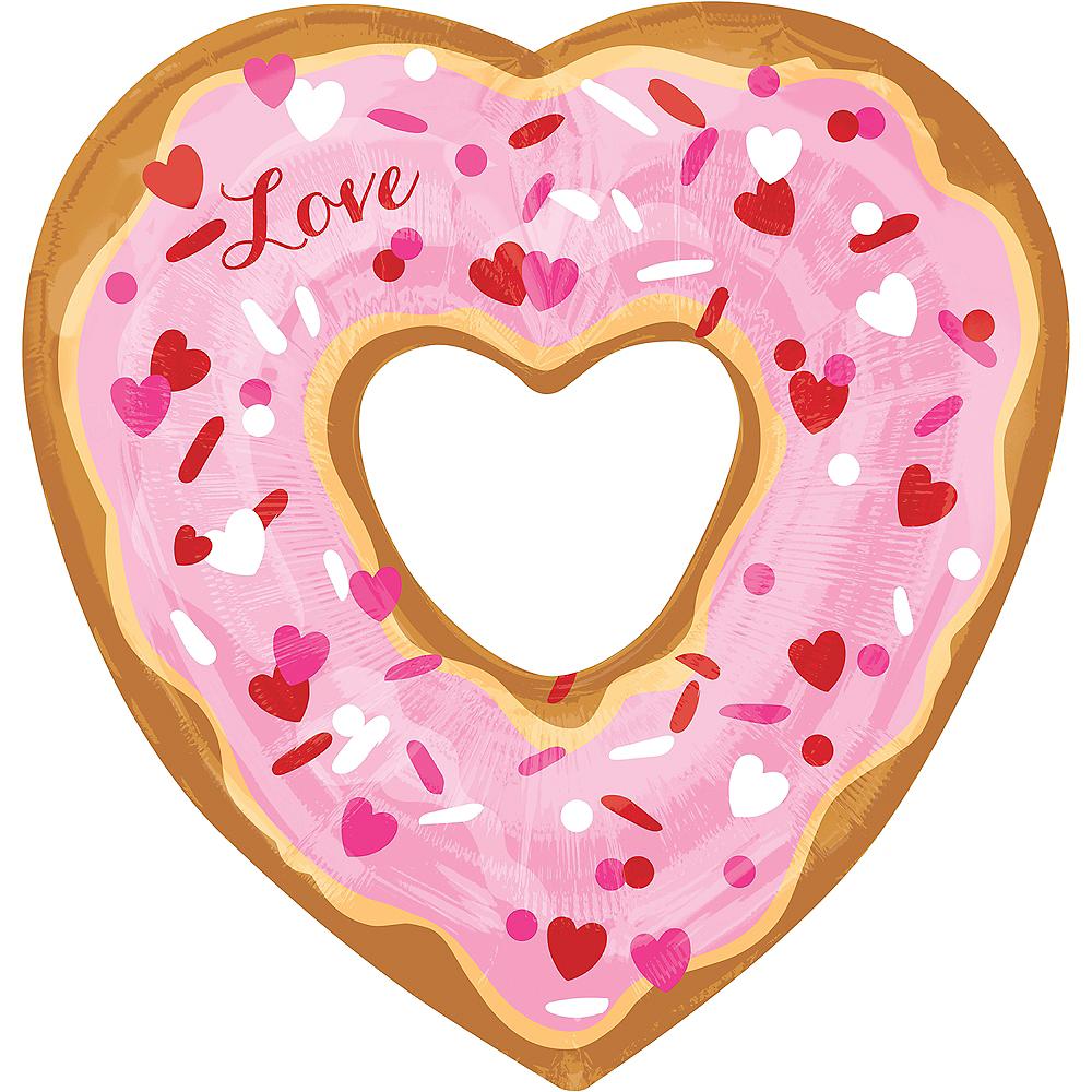 Love Donut Heart Balloon Image #1