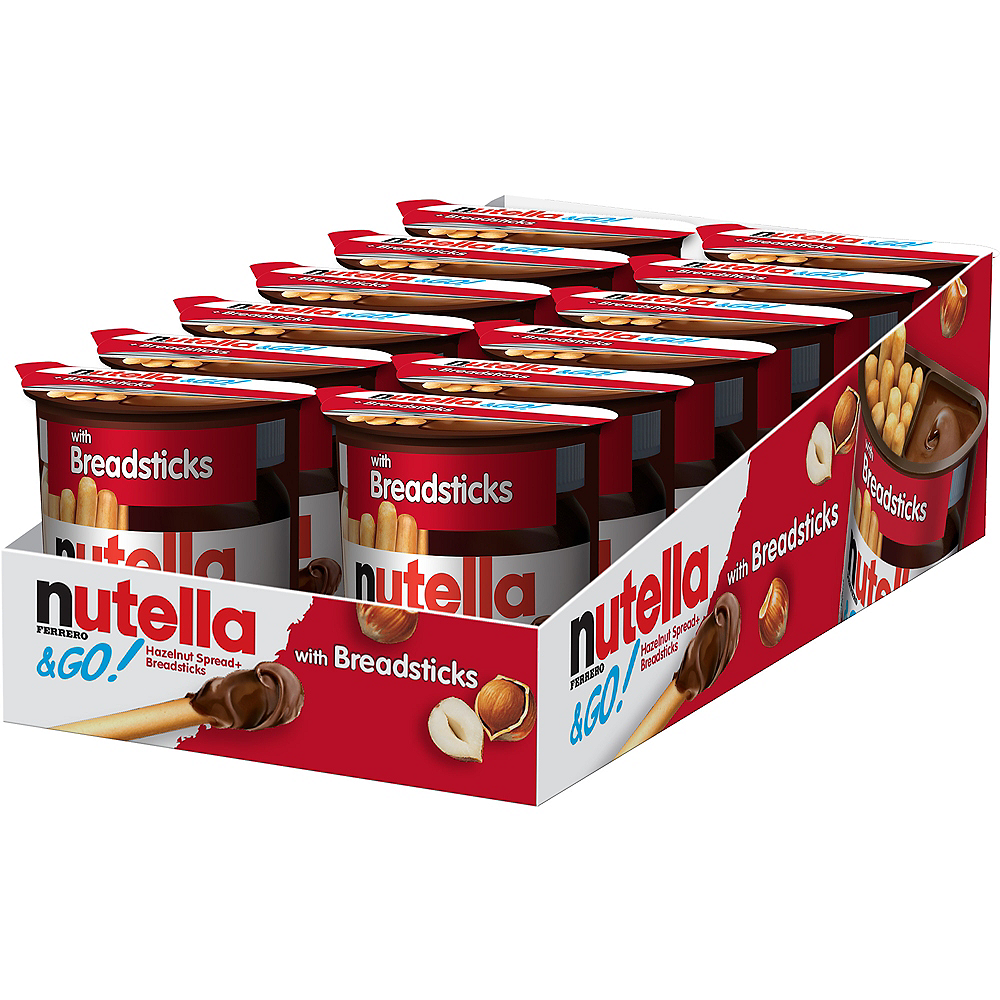 Nutella & Go with Breadsticks 12ct Image #1