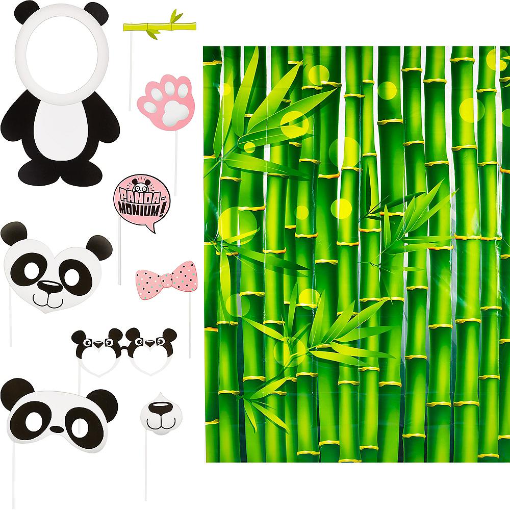Panda Photo Booth Kit 10pc Image #1