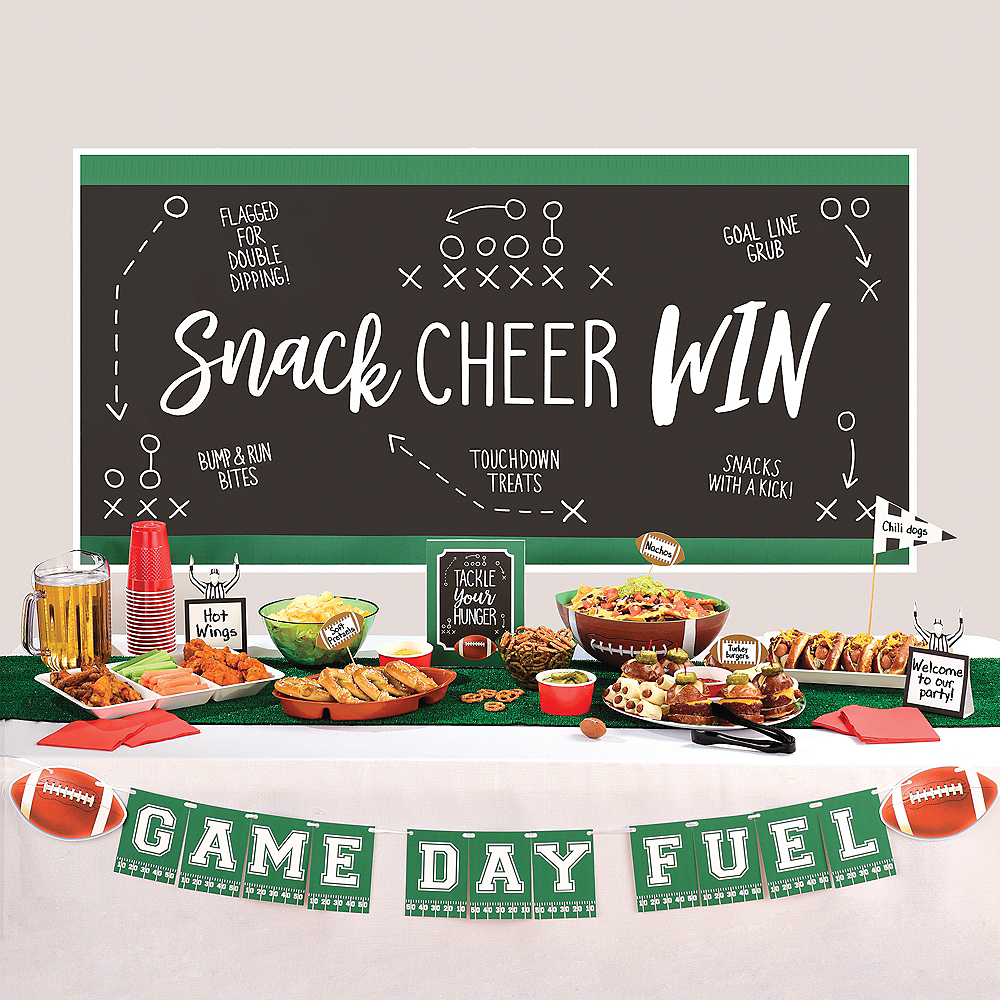 Nav Item for Football Buffet Decorating Kit 15pc Image #1