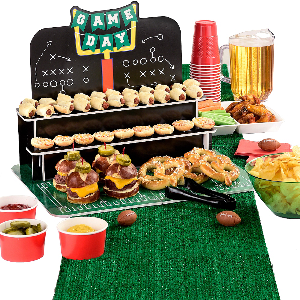 Football Treat Stand by Party City