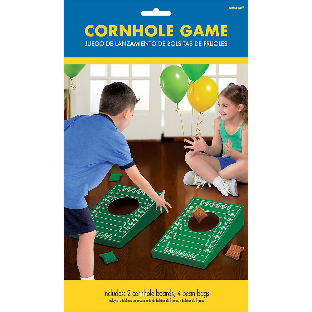 Football Cornhole Game Image #1