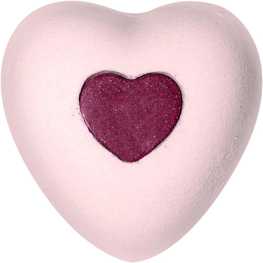 Rose Heart Bath Bomb Image #1