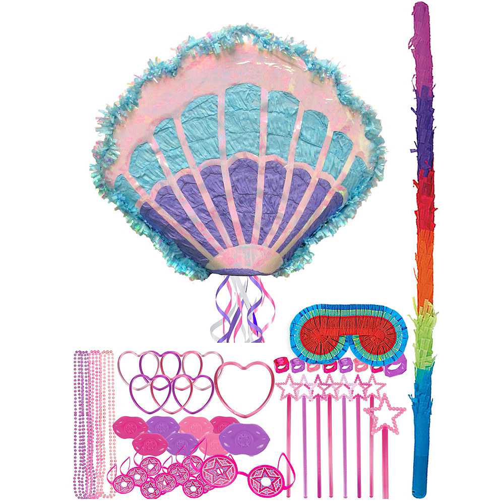 Shell Pinata Kit with Favors Image #1