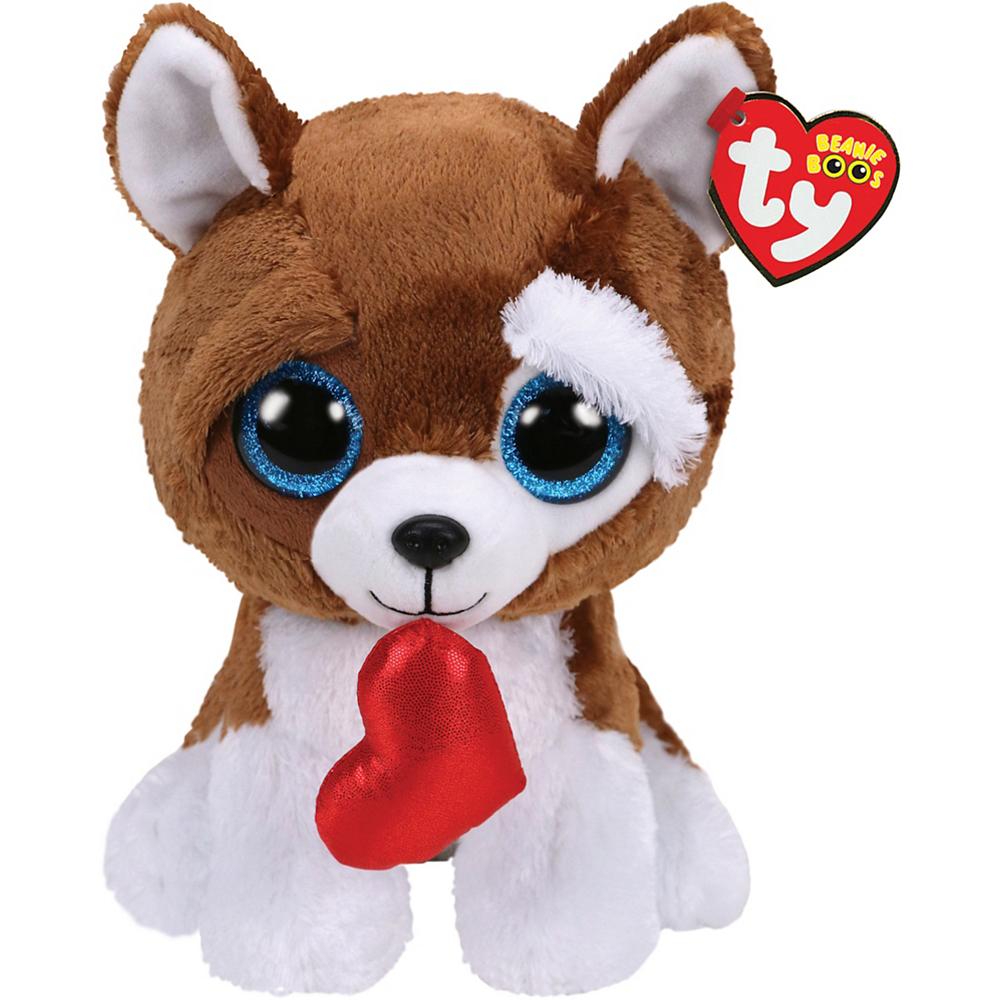 Smooches Beanie Boo Dog Plush 5 1 2in x 13in  357e9a2b1e1