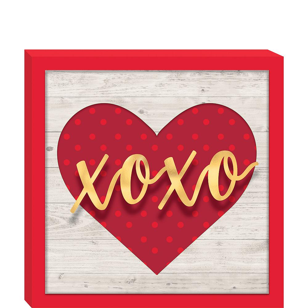Xoxo Block Sign Image #1
