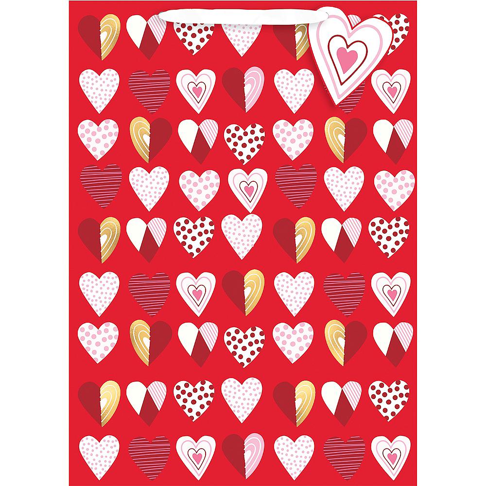 Patterned Hearts Gift Bag Image #1