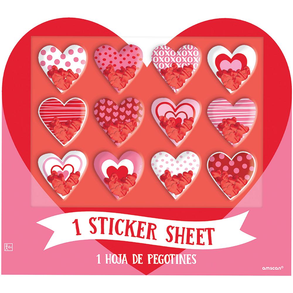 Heart Sticker Shakers 1 Sheet Image #1
