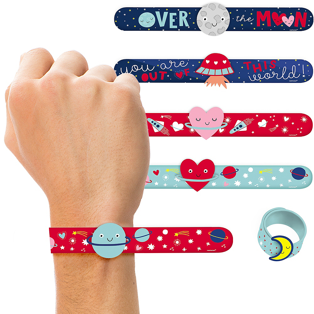 Space Slap Bracelets 6ct Image #1