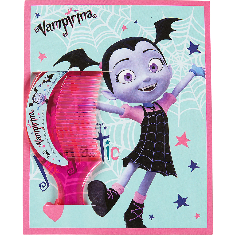 Nav Item for Vampirina Valentine Exchange Cards with Favors 12ct Image #2