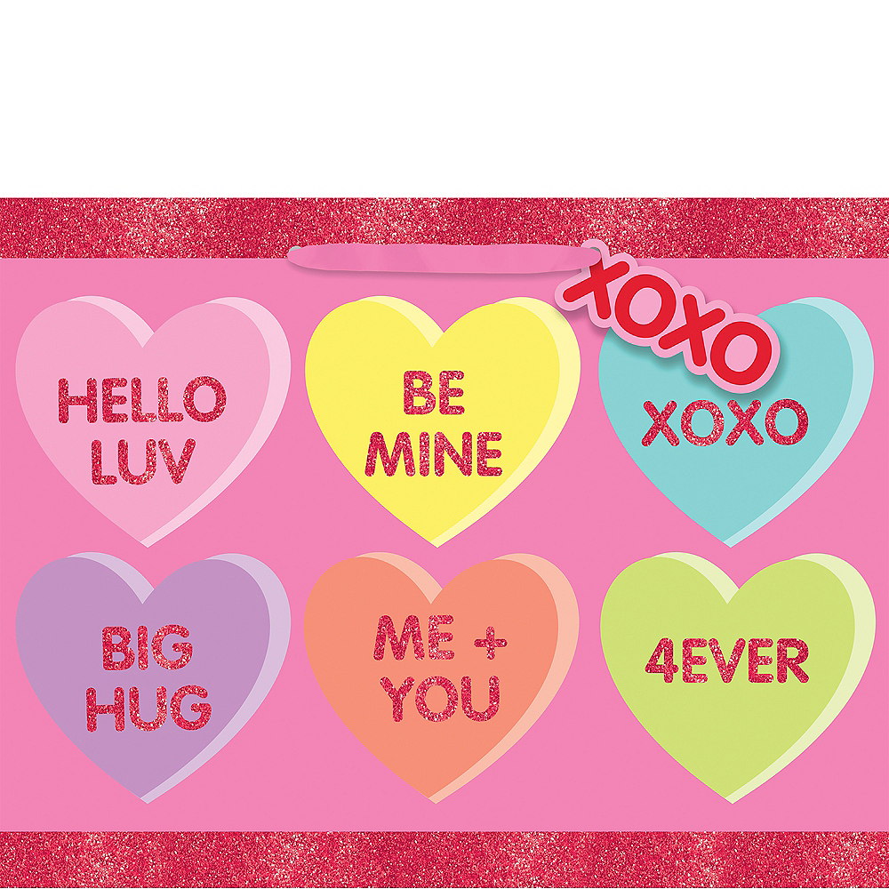 Conversation Heart Gift Bag Image #1