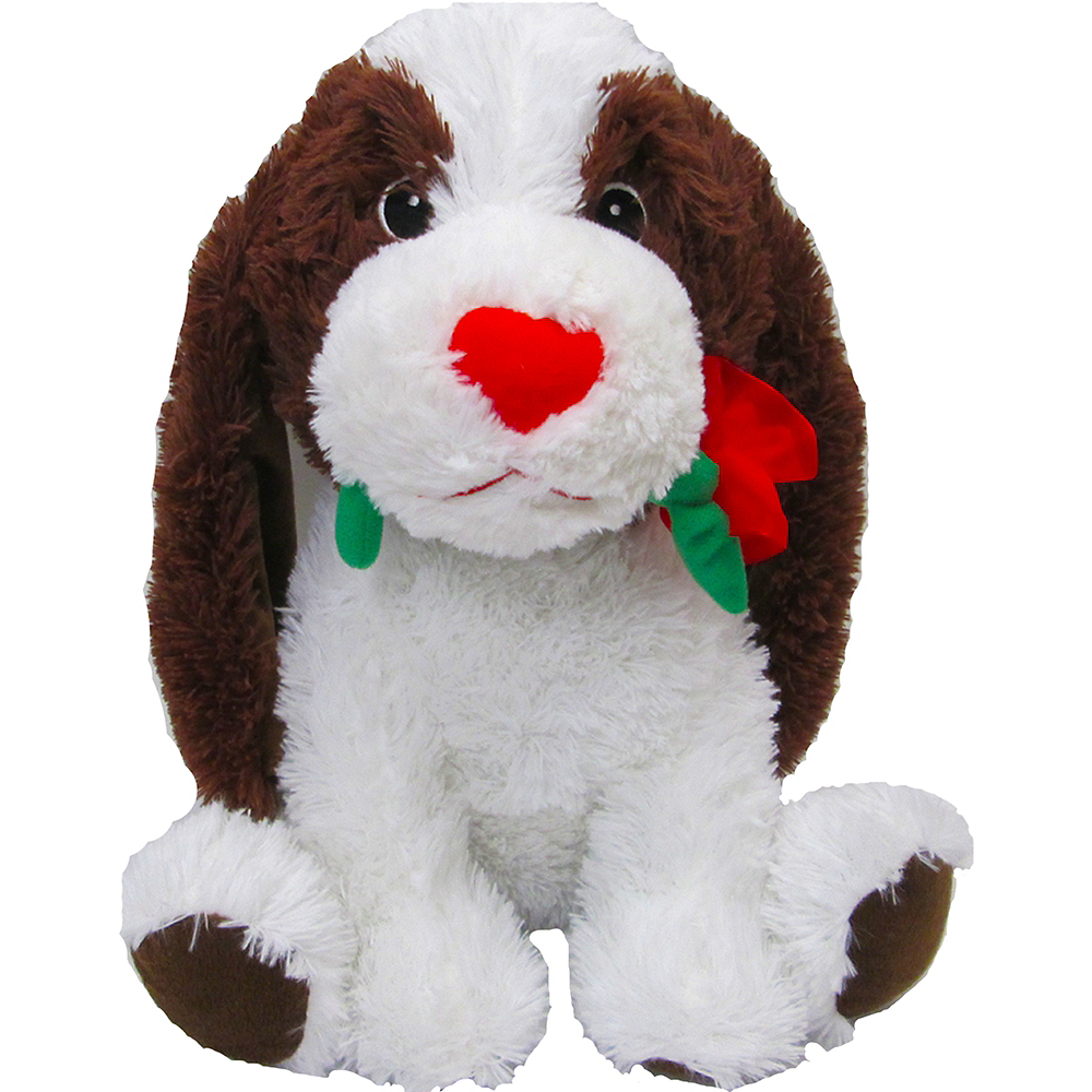 Valentine's Day Dog Plush Image #1