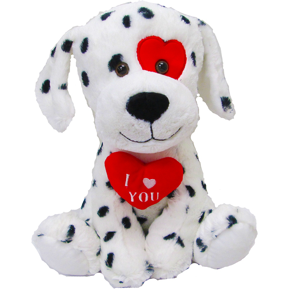 Nav Item for Valentine's Day Dalmatian Plush Image #1