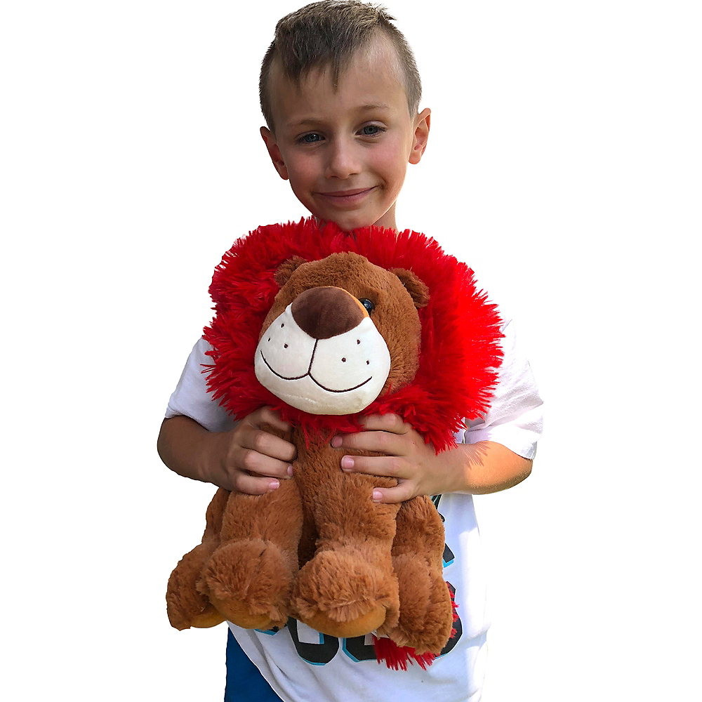 Valentine's Day Lion Plush Image #2