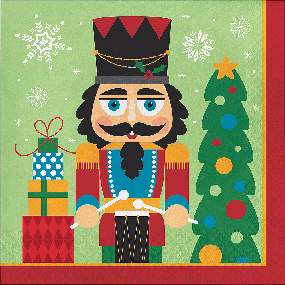 Nutcracker Lunch Napkins 16ct Image #1