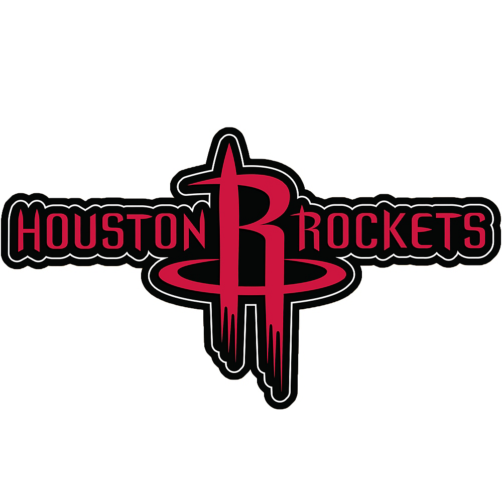 Nav Item for Houston Rockets Cling Decal Image #1